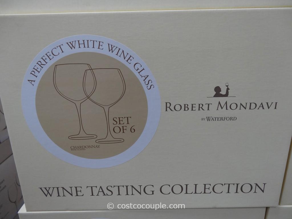 Robert Mondavi By Waterford Wine Glass Set