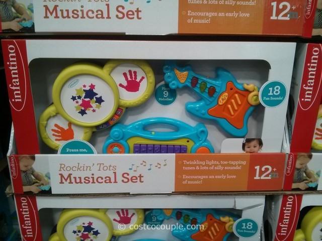 Infantino Rockin Tots Musical Set Costco 1