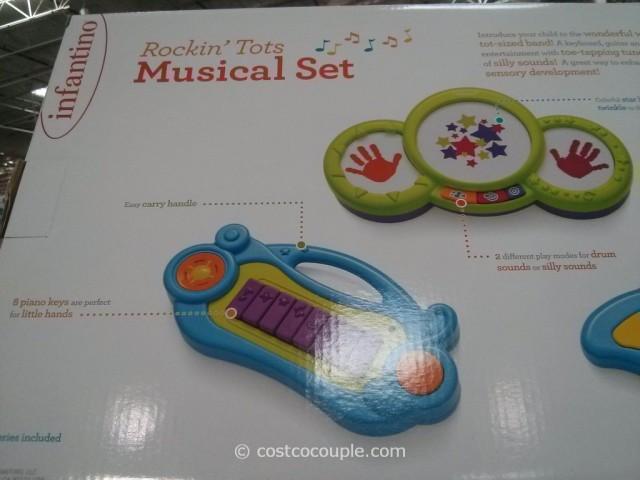 Infantino Rockin Tots Musical Set Costco 4