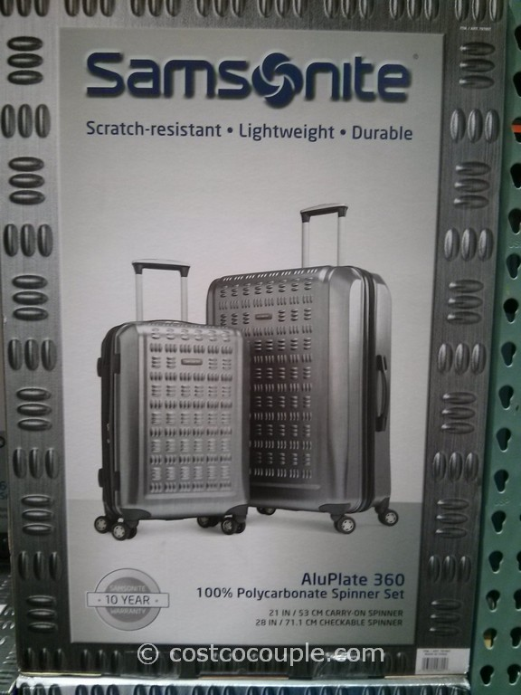Samsonite GraveTech Hardside 2-Piece Set Costco 7