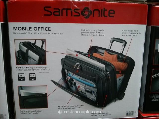 Samsonite Wheeled Briefcase Costco 2