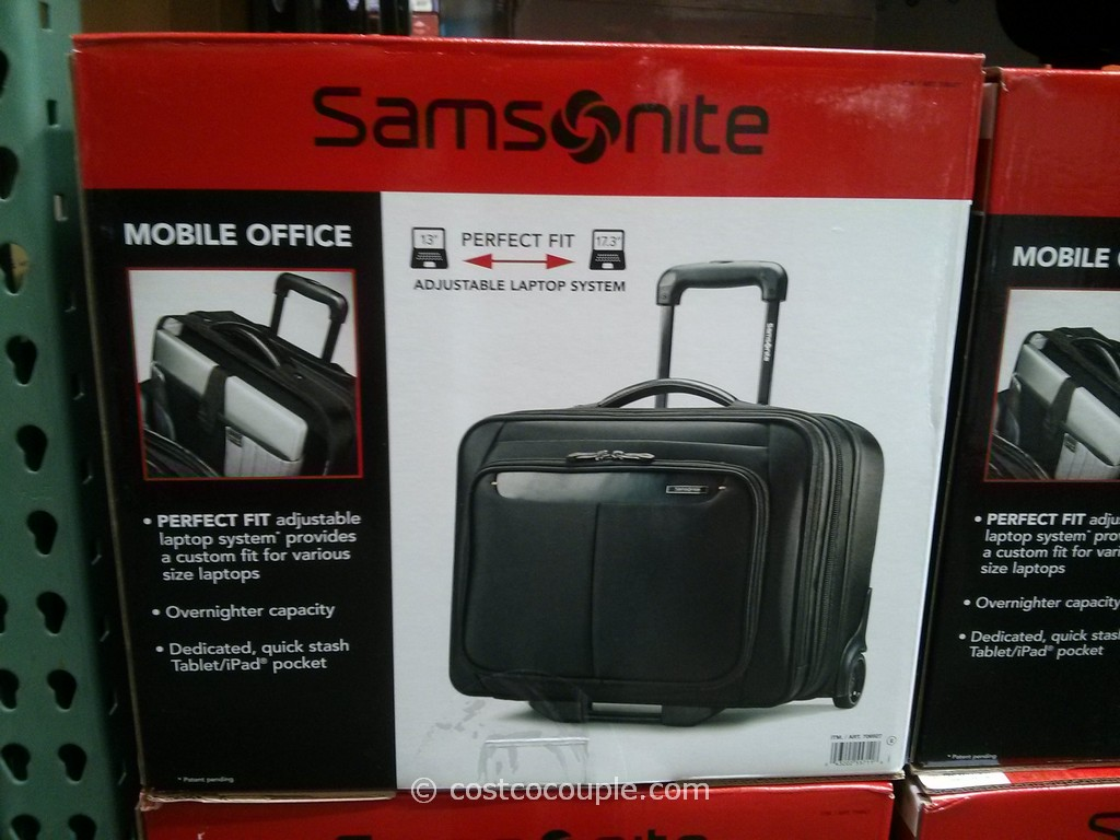 Samsonite Wheeled Briefcase Costco 5