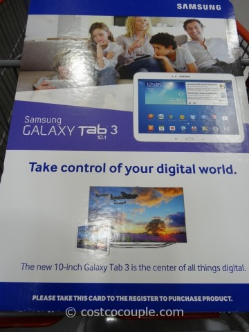 Samsung Galaxy Tab 3 10.1 Costco 1
