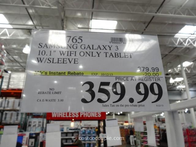 Samsung Galaxty Tab 3 10.1 Costco 3