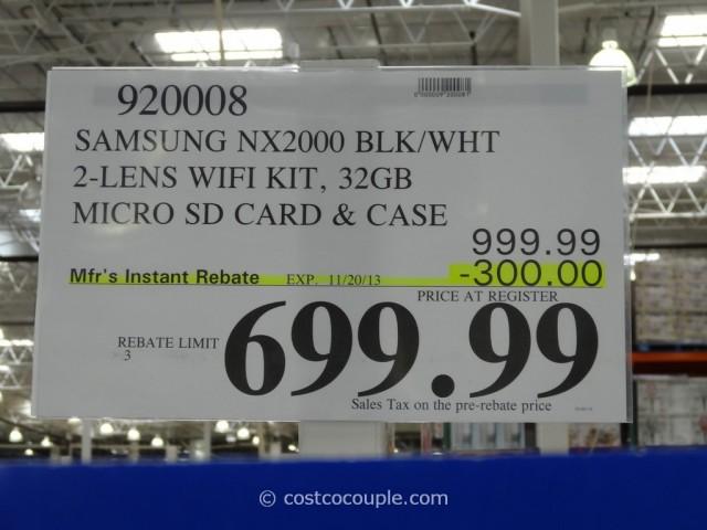 Samsung Smart Camera NX2000 Costco 1