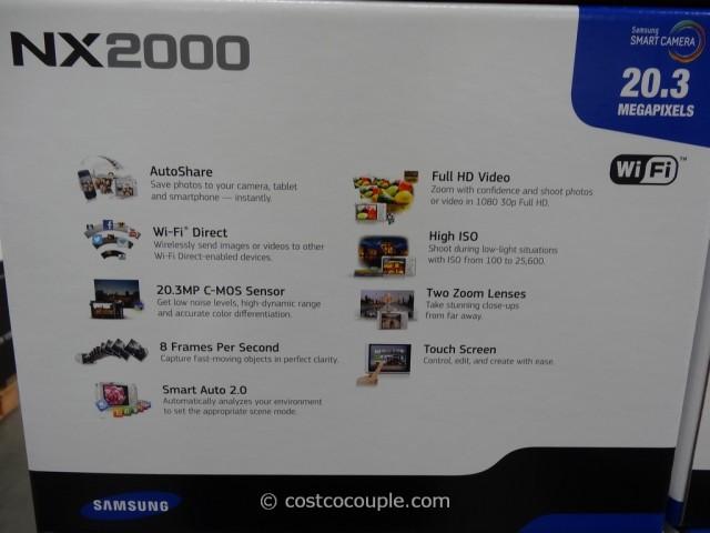 Samsung Smart Camera NX2000 Costco 3