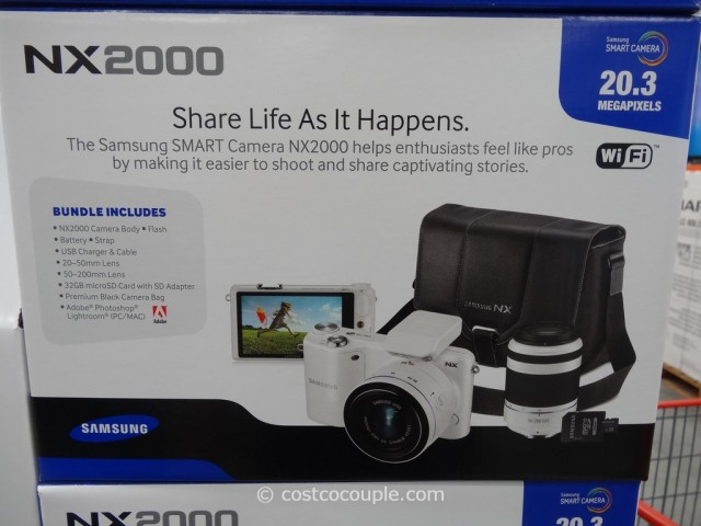 Samsung Smart Camera NX2000 Costco 5