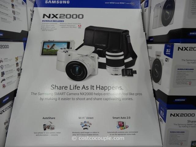 Samsung Smart Camera NX2000 Costco 6