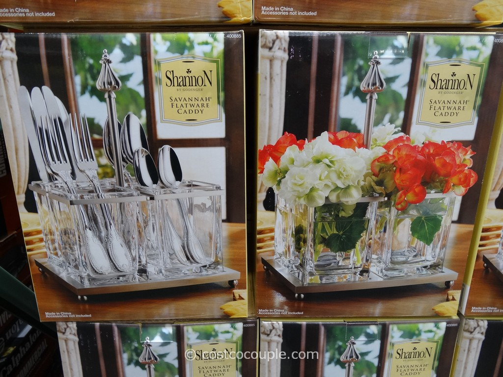 Shannon Savannah Flatware Caddy Costco 4