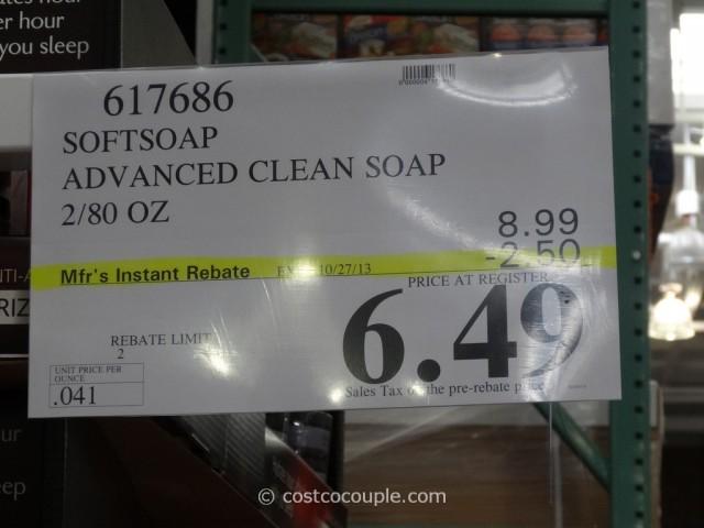 Softsoap Advanced Clean Soap Costco 2