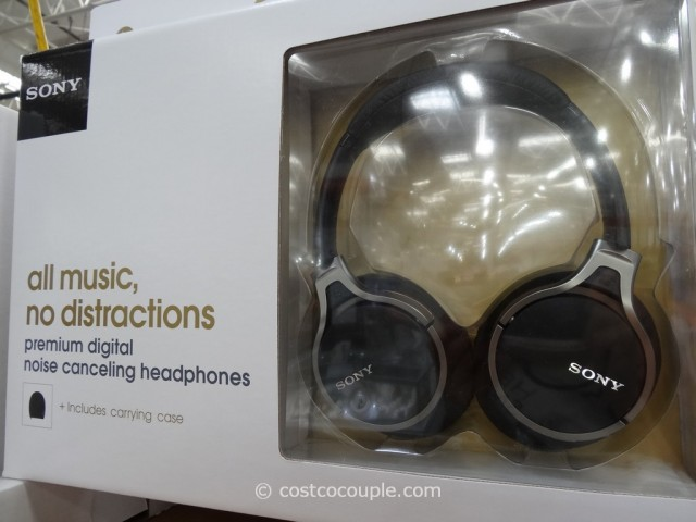 Sony Noise Cancelling Headphones MDR10RC Costco 4