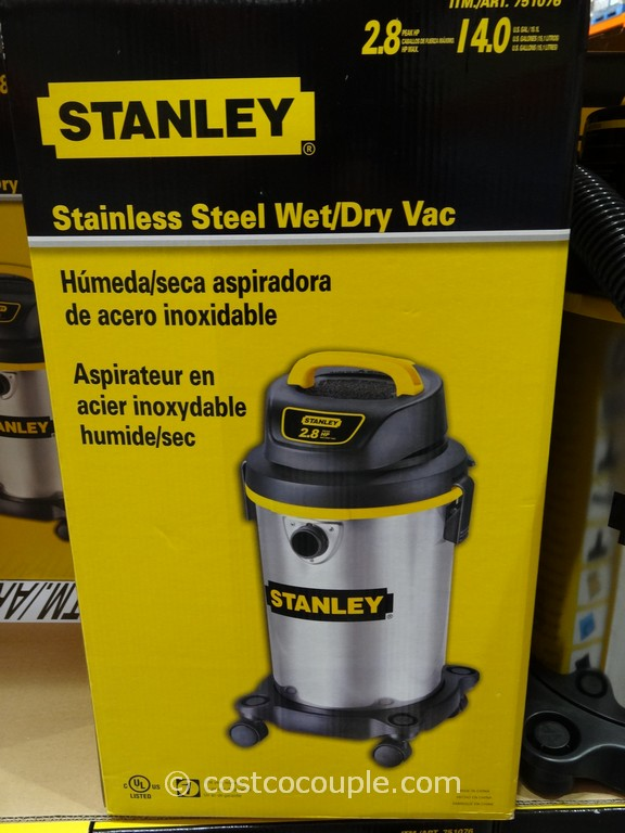 Stanley Stainless Steel Wet Dry Vacuum
