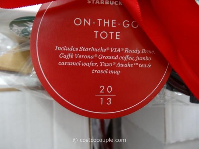Starbucks On-The-Go Tote Set Costco 2