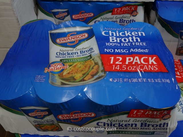 Swansons All Natural Chicken Broth Costco 1