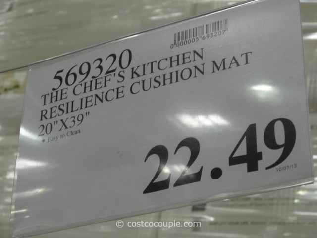The Chef's Kitchen Resilience Cushion Mat Costco 1