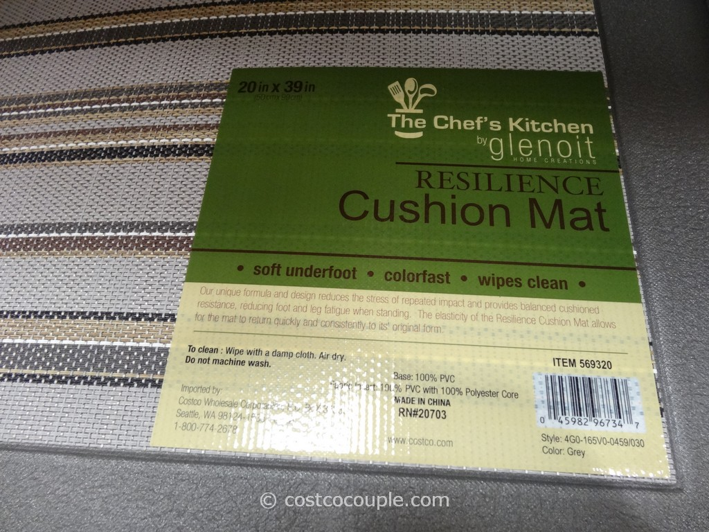 the chefs kitchen resilience cushion mat costco 6 - Cushion Kitchen Mats