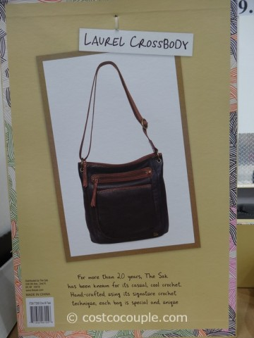The Sak Leather Laurel Crossbody Costco  4