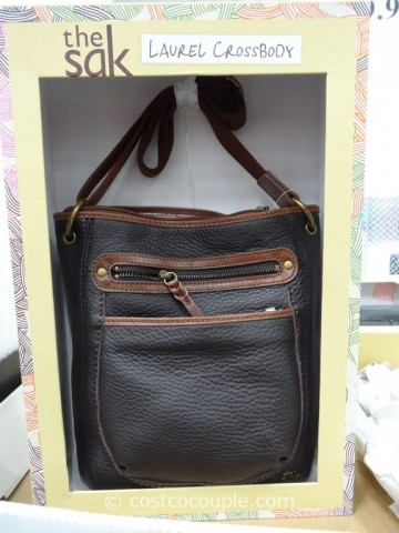 The Sak Leather Laurel Crossbody Costco 5