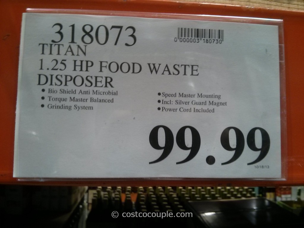 Titan Food Waste Disposer