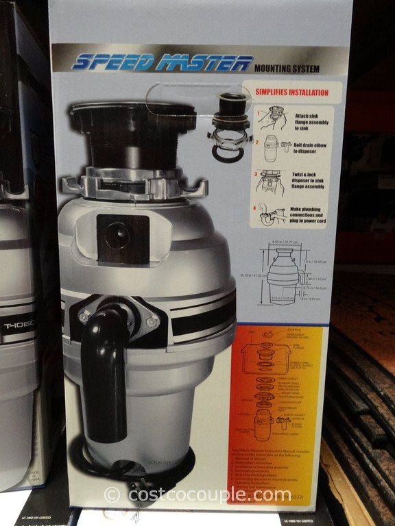 Titan Food Waste Disposer Costco 5