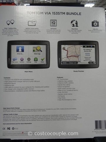 TomTom VIA GPS 1535TM Costco 2