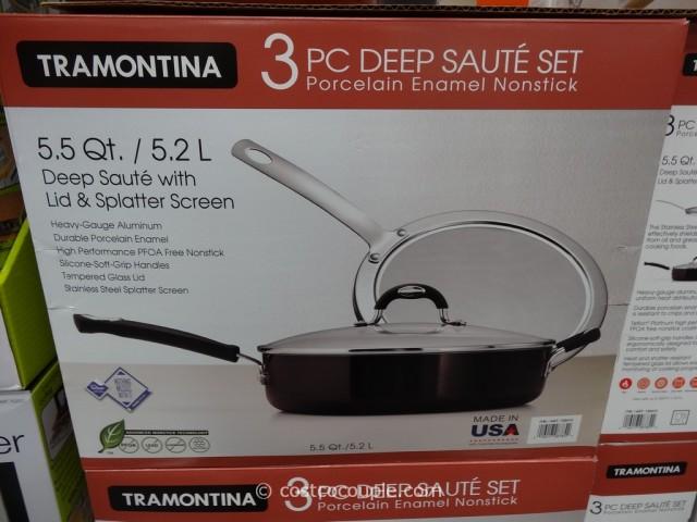 Tramontina Deep Saute Set Costco 1