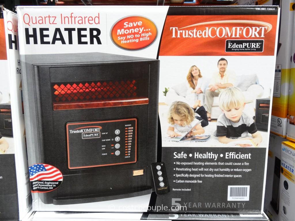 Trusted Comfort Quartz Infrared Heater Costco 1