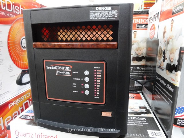 Trusted Comfort Quartz Infrared Heater Costco