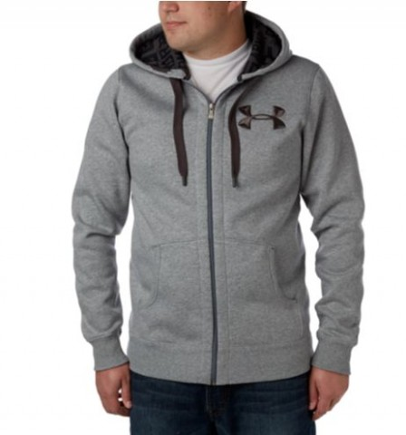 Under Armour Mens Charged Cotton Storm Zip Hoodie Costco 1