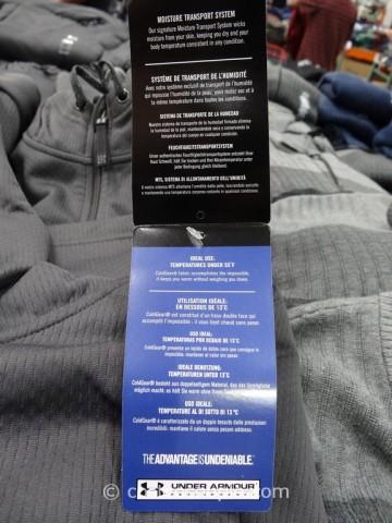 Under Armour Mens Quarter Zip Pullover Costco 3