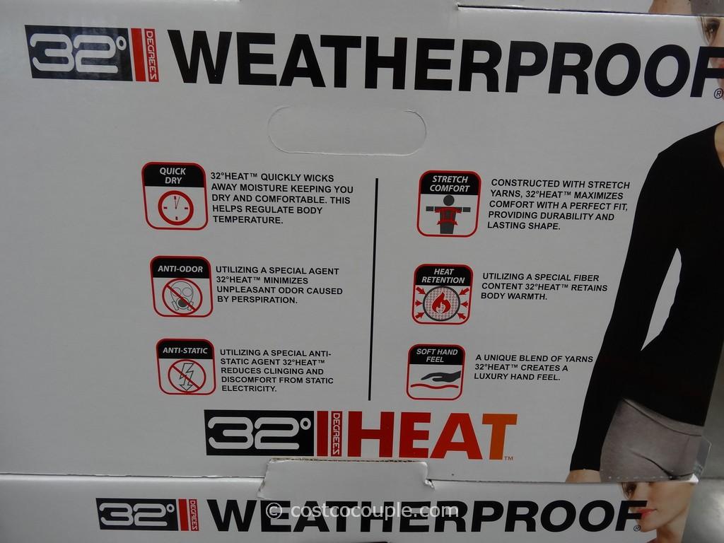 32 degrees heat costco