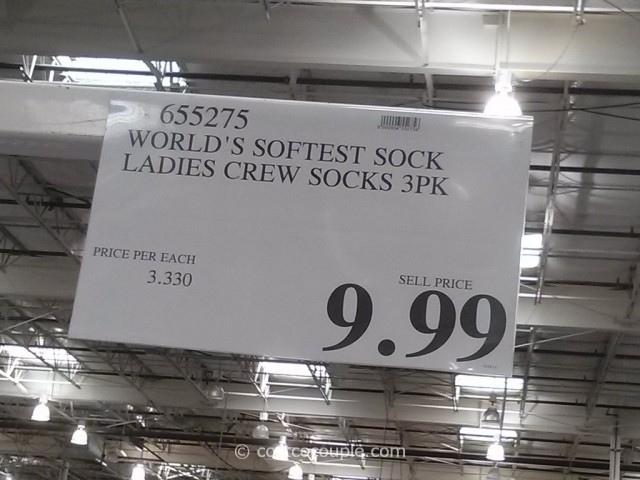 Worlds Softest Ladies Socks Costco 1