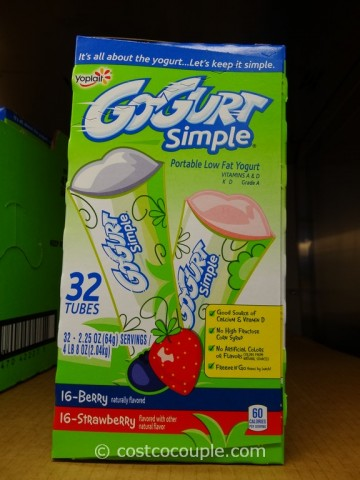 Yoplait Gogurt Simple Costco 1