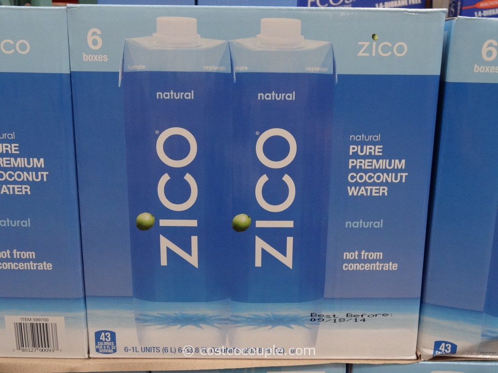 Zico Coconut Water Costco 1