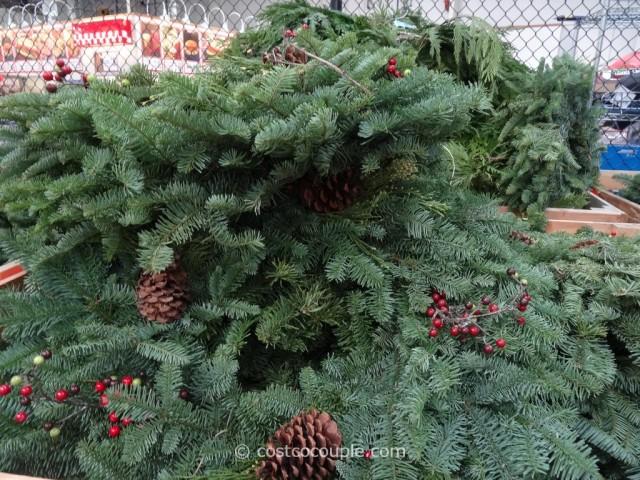 25-Feet Western Red Cedar Garland Costco 2