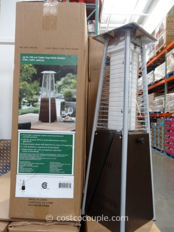 34-Inch Table Top Patio Heater Costco 1