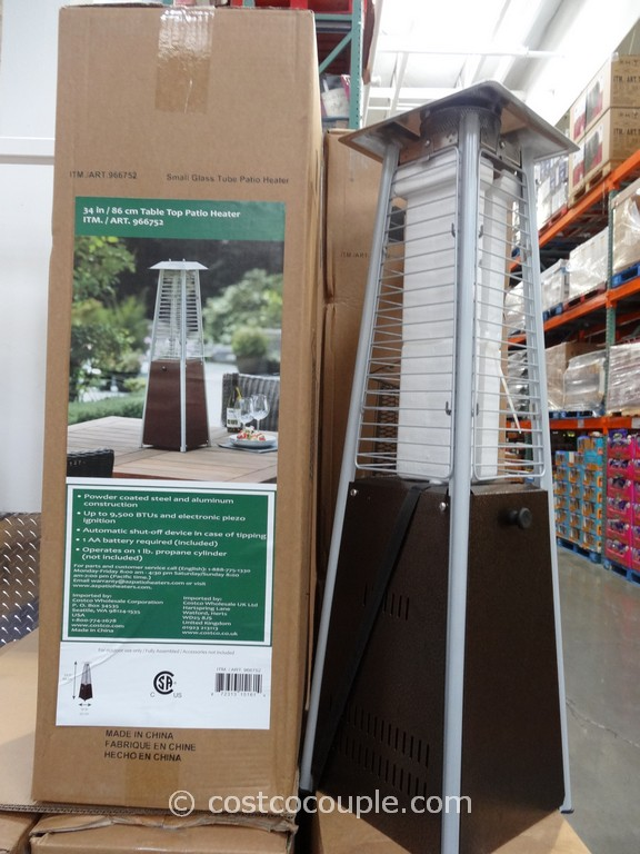 34 Inch Table Top Patio Heater Costco 1