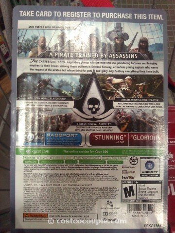 Assassins Creed IV Black Flag Costco 3