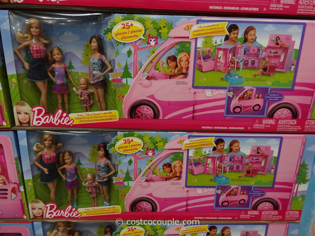 Mattel Barbie Sisters RV