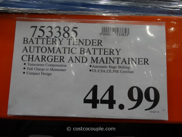 Battery Tender Automatic Battery Charger Costco 1