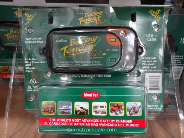 Costco Auto Program >> Deltran Battery Tender Plus 12V Battery Charger