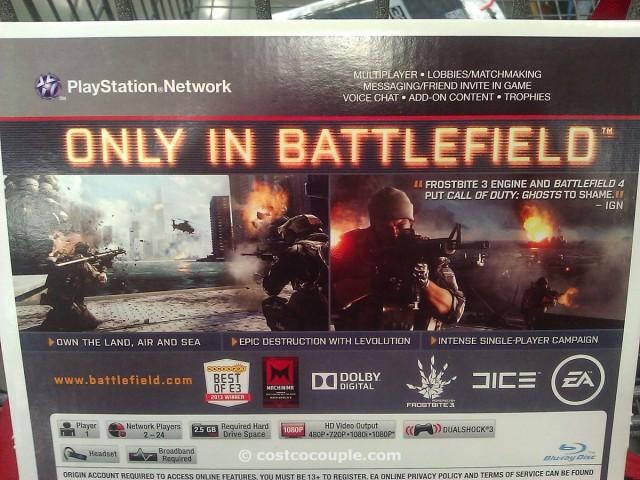 Battlefield 4 Video Game Costco 1