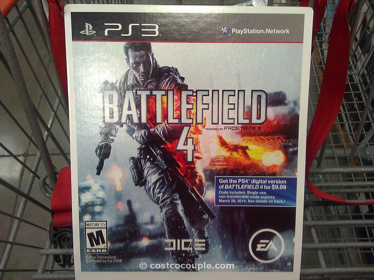 Battlefield 4 Video Game Costco 2