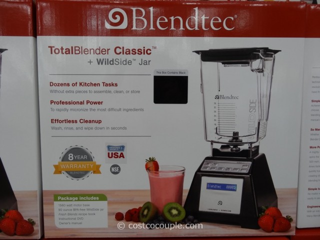 Blendtec Total Blender Costco 3
