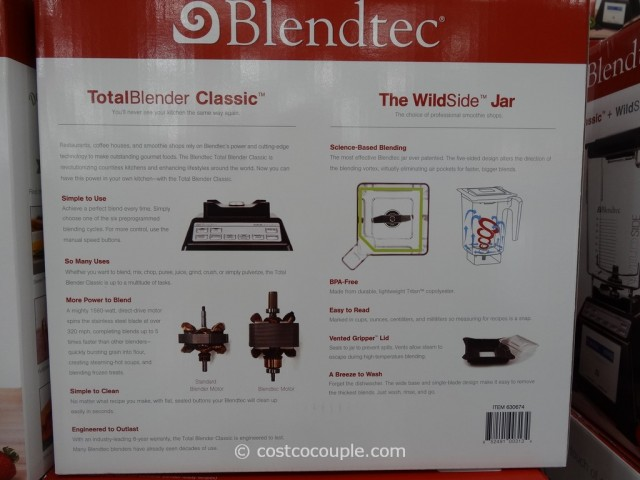 Blendtec Total Blender Costco 4