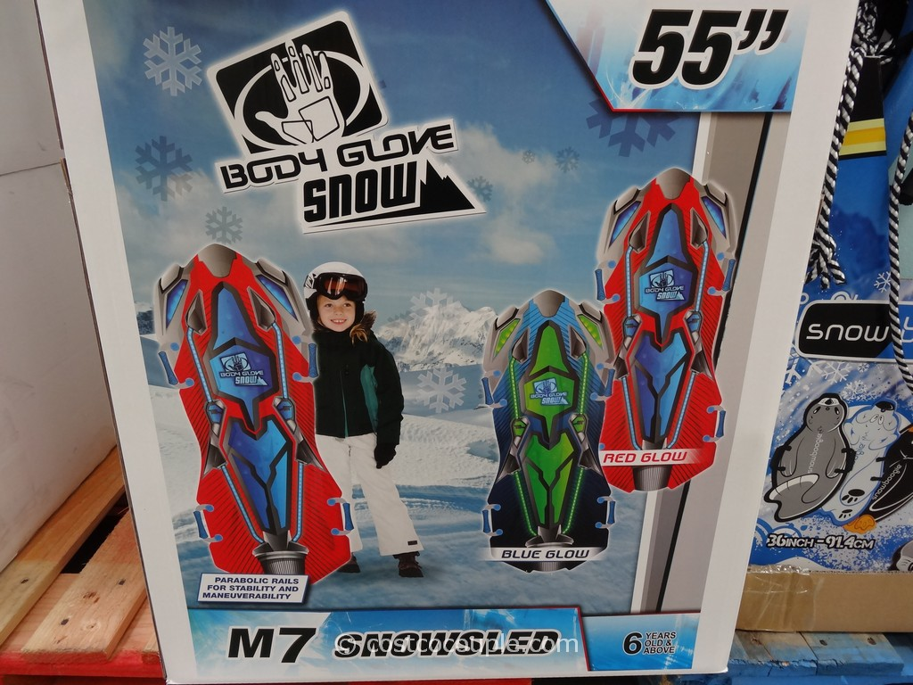 Body Glove 55 Inch M7 Snow Sled