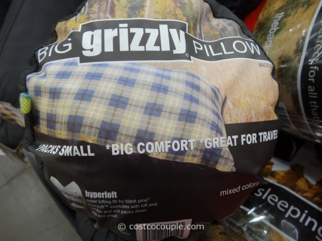 Bold Inc Grizzly 2-Pack Camp Pillows Costco 3