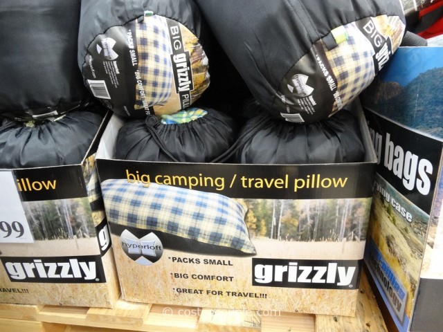 Bold Inc Grizzly 2-Pack Camp Pillows Costco 4
