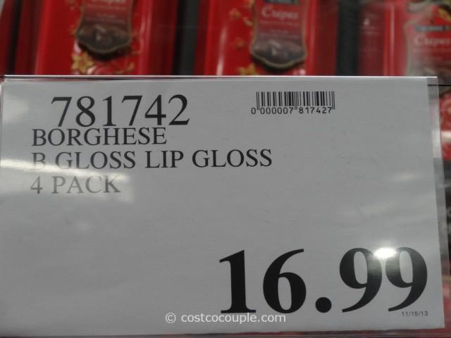 Borghese B Gloss Lip Gloss Costco 1