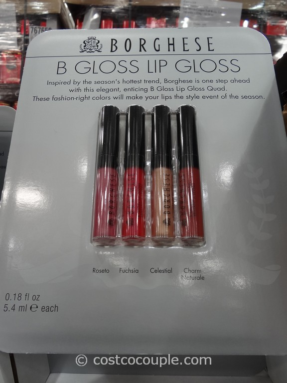 Borghese B Gloss Lip Gloss Costco 3